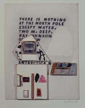 Ray Johnson. Antarctican (1968)