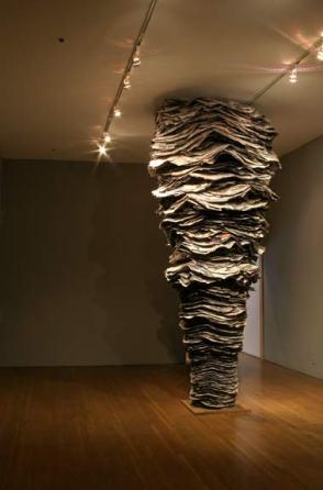 Robyn Laba Newsworks Exhibition - installation view